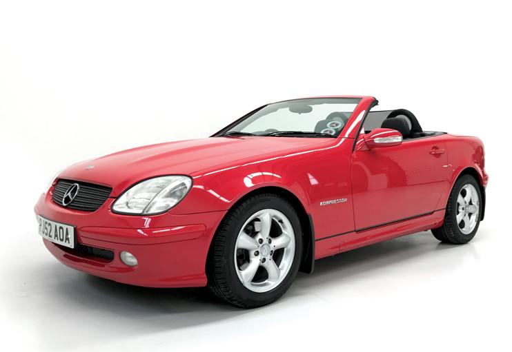 2002 Mercedes SLK200 manual