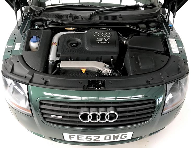 2002 Audi Tt Mk1 Coupe Quattro Bam 225 Enginebay Stone