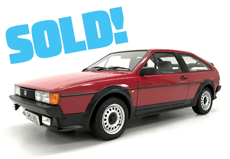 1990 VW Scirocco GT auto