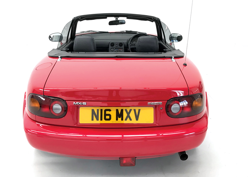 1996 mazda mx5 16 for sale rear2 stone cold classics. Black Bedroom Furniture Sets. Home Design Ideas