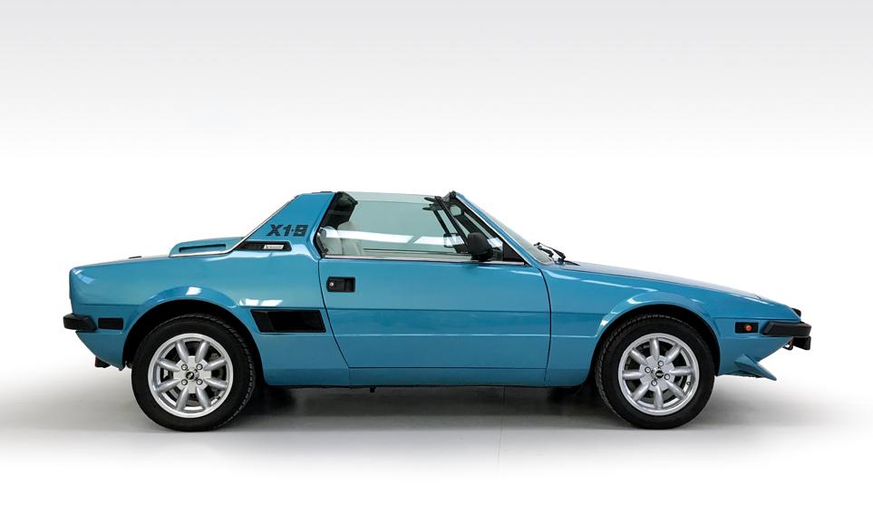 Fiat X1 9 >> 1985 Fiat X1 9 Vs Stone Cold Classics