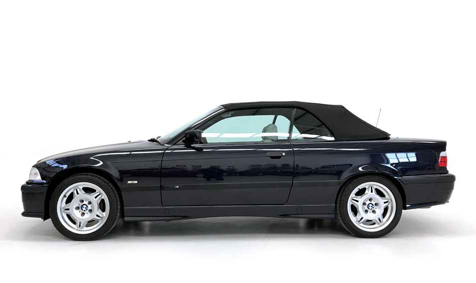 1999 bmw 328i sport convertible for sale side roof up stone cold classics. Black Bedroom Furniture Sets. Home Design Ideas