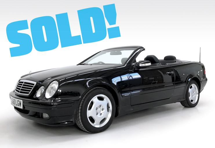 2000 Mercedes CLK320