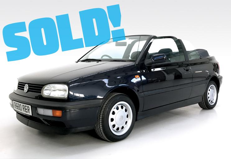1997 VW Golf Cabrio
