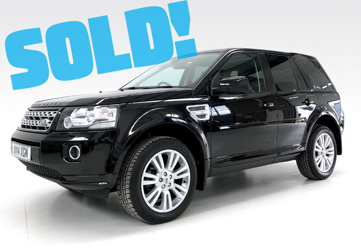 2014 Land Rover Freelander 2 HSE SD4