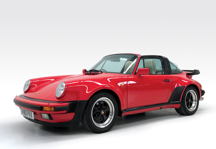 1989 Porsche 911 Targa Supersport