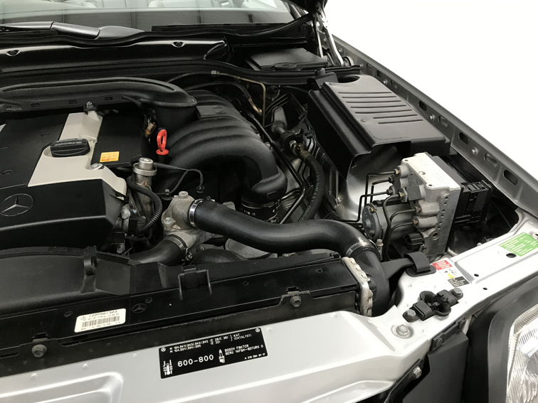 1998 mercedes benz 320sl roadster for sale engine detail for Mercedes benz engines for sale