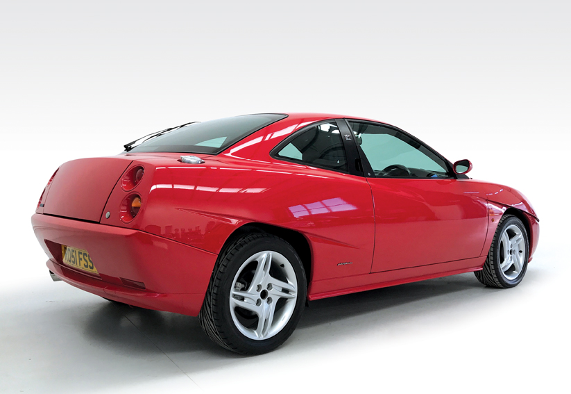 2001 fiat coupe 20v turbo for sale rear stone cold classics. Black Bedroom Furniture Sets. Home Design Ideas