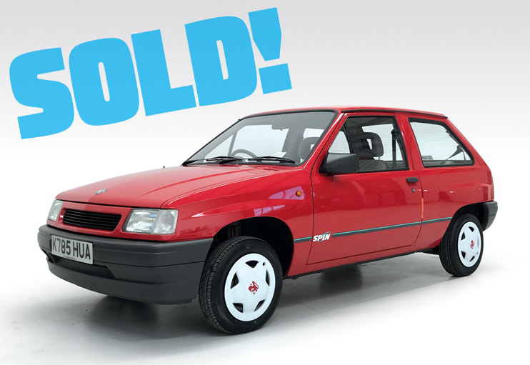 1993 Vauxhall Nova Spin 1.2i