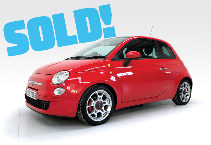 2008 Fiat 500 Sport Ferrari Dealer Edition